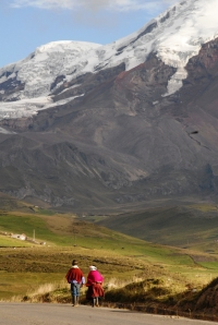 On the way to Chimborazo